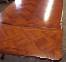 refinished dinning room table